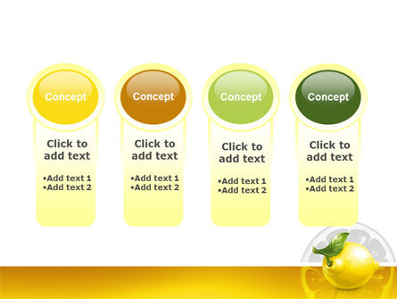 Yellow Lemon PowerPoint Template Slide 5