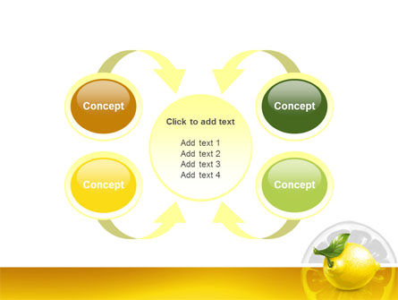 Yellow Lemon PowerPoint Template Slide 6