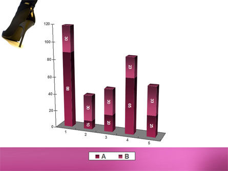 Female Fashion Shoes PowerPoint Template Slide 17