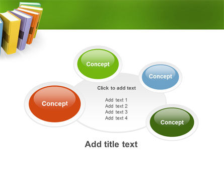 Books PowerPoint Template Slide 16