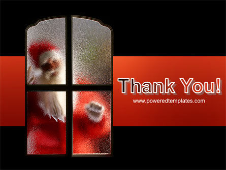 Santa Claus Coming PowerPoint Template Slide 20