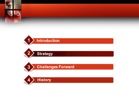 Santa Clause Coming PowerPoint Template Slide 3
