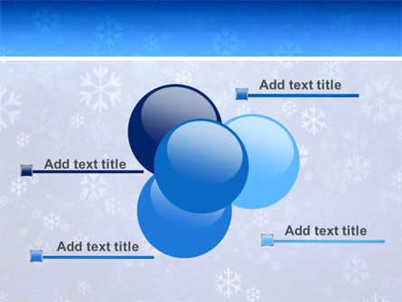 Snowflakes PowerPoint Template Slide 10