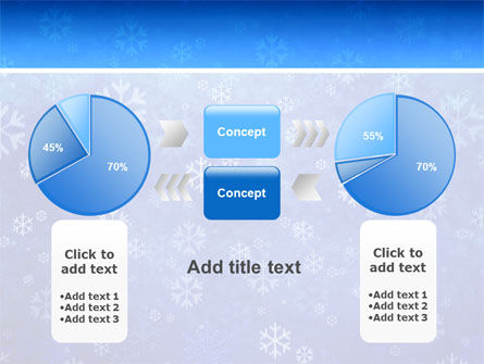 Snowflakes PowerPoint Template Slide 11
