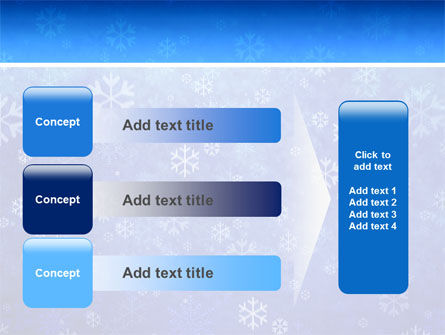 Snowflakes PowerPoint Template Slide 12