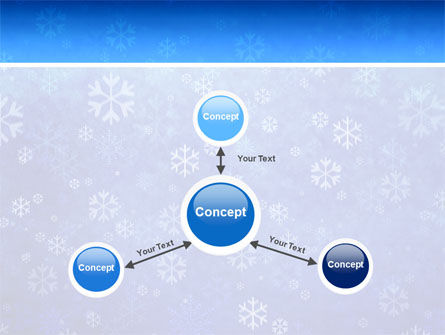 Snowflakes PowerPoint Template Slide 14
