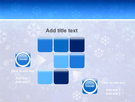Snowflakes PowerPoint Template Slide 16