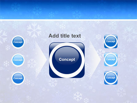 Snowflakes PowerPoint Template Slide 17