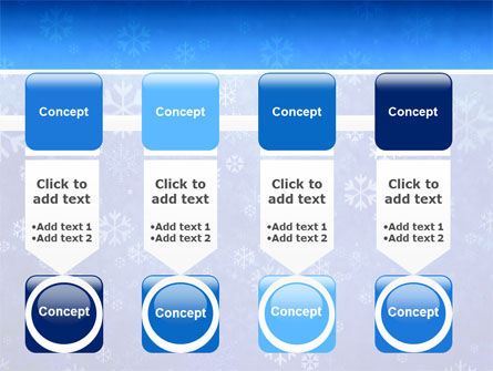 Snowflakes PowerPoint Template Slide 18