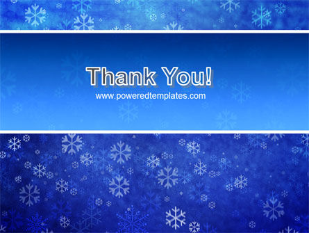 Snowflakes PowerPoint Template Slide 20