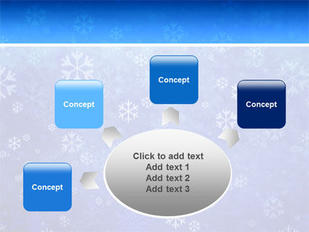 Snowflakes PowerPoint Template Slide 7