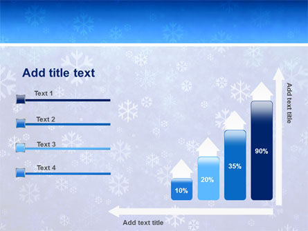 Snowflakes PowerPoint Template Slide 8