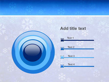 Snowflakes PowerPoint Template Slide 9