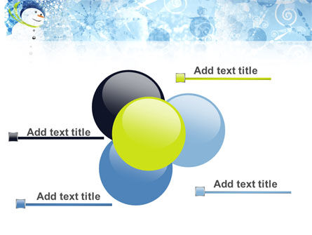 Snowman PowerPoint Template Slide 10