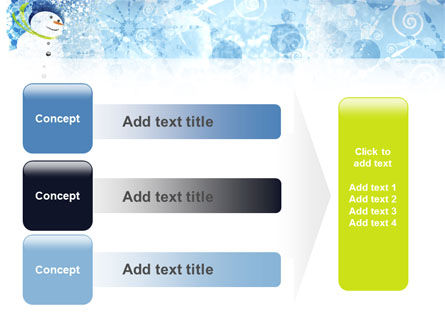 Snowman PowerPoint Template Slide 12