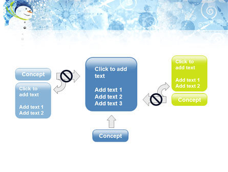 Snowman PowerPoint Template Slide 13