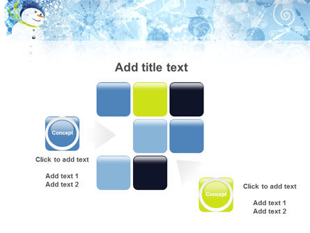 Snowman PowerPoint Template Slide 16