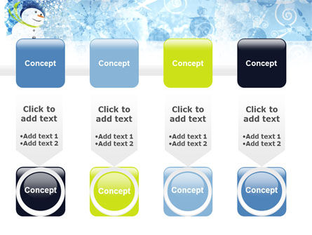 Snowman PowerPoint Template Slide 18