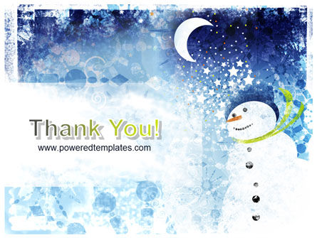 Snowman PowerPoint Template Slide 20