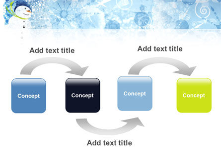 Snowman PowerPoint Template, Slide 4, 02847, Holiday/Special Occasion — PoweredTemplate.com