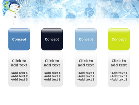 Snowman PowerPoint Template Slide 5