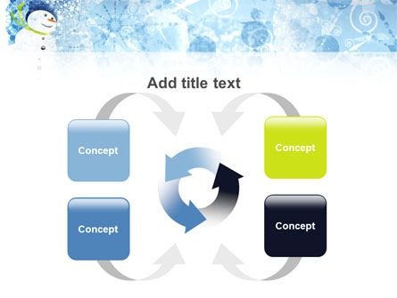 Snowman PowerPoint Template Slide 6