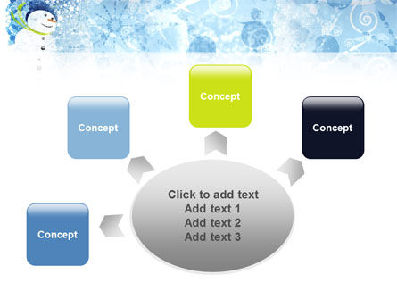 Snowman PowerPoint Template Slide 7