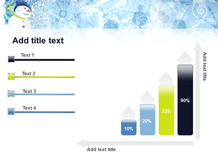 Snowman PowerPoint Template Slide 8