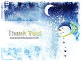 Snowman PowerPoint Template#20