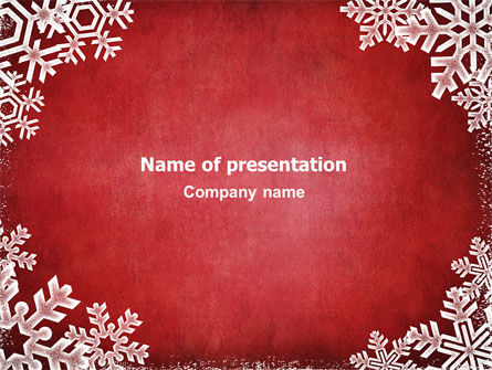 Christmas Theme PowerPoint Template, 02848, Holiday/Special Occasion — PoweredTemplate.com