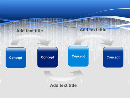 Matrix Theme PowerPoint Template, Slide 4, 02851, Technology and Science — PoweredTemplate.com
