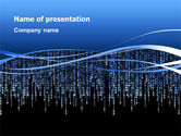 Technology and Science: Plantilla de PowerPoint - tema matriz #02851