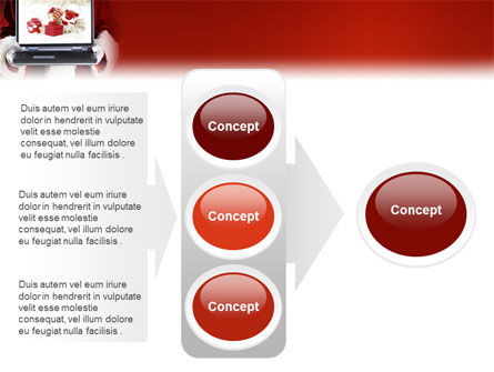 Christmas Presents Online PowerPoint Template Slide 11