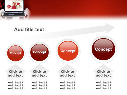 Christmas Presents Online PowerPoint Template Slide 13