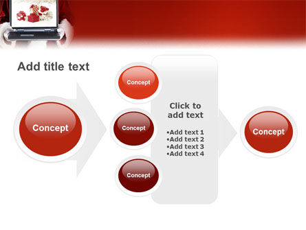 Christmas Presents Online PowerPoint Template Slide 17