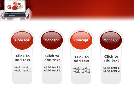 Christmas Presents Online PowerPoint Template Slide 5