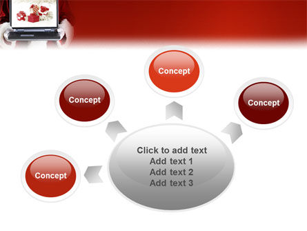 Christmas Presents Online PowerPoint Template Slide 7