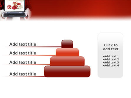 Christmas Presents Online PowerPoint Template Slide 8