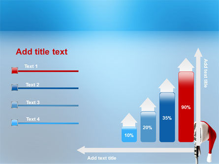 Christmas Songs PowerPoint Template Slide 8