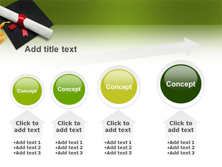 Certificate of Degree PowerPoint Template Slide 13