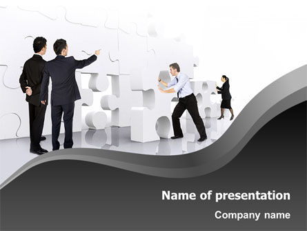 Brainstorm PowerPoint Template, 02856, Business Concepts — PoweredTemplate.com