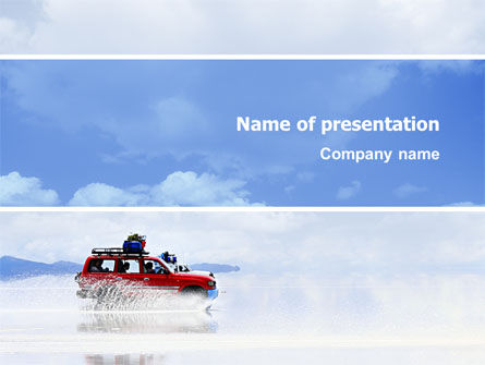 Sports: Off-road PowerPoint Template #02860