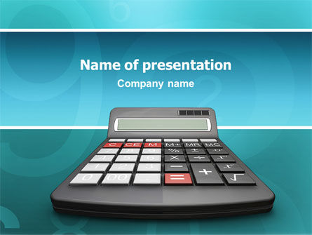 Computation PowerPoint Template, 02861, Technology and Science — PoweredTemplate.com