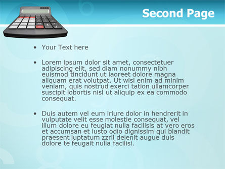 Computation PowerPoint Template, Slide 2, 02861, Technology and Science — PoweredTemplate.com