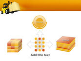 Yellow Loader PowerPoint Template#19