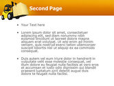 Yellow Loader PowerPoint Template#2