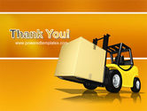 Yellow Loader PowerPoint Template#20