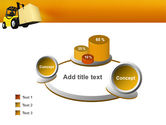 Yellow Loader PowerPoint Template#6