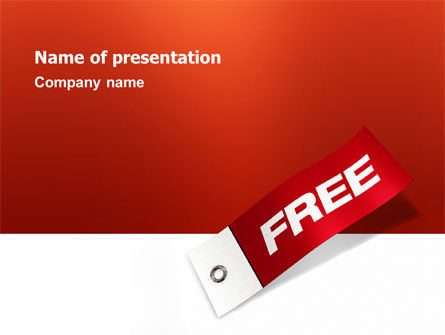 Label Free PowerPoint Template, 02865, Business Concepts — PoweredTemplate.com