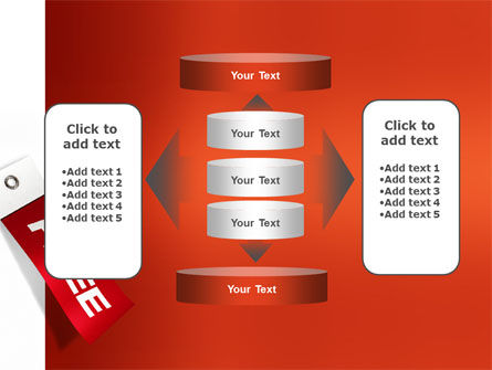 Label Free PowerPoint Template Slide 13